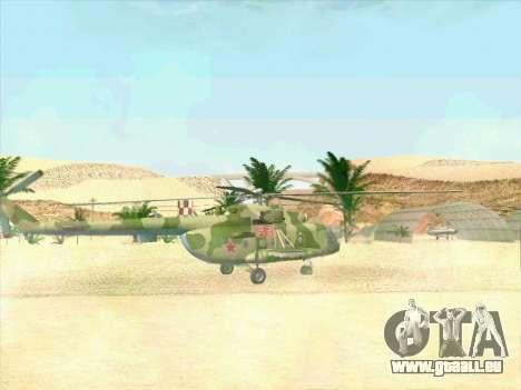 Mi-8 pour GTA San Andreas vue de droite