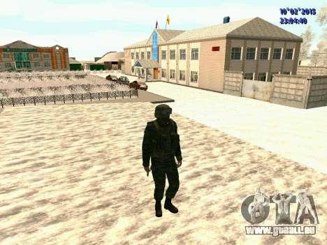 Spetsnaz MVD pour GTA San Andreas quatrième écran