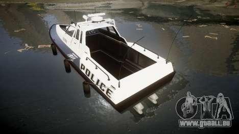 GTA V Police Predator [Fixed] für GTA 4 hinten links Ansicht
