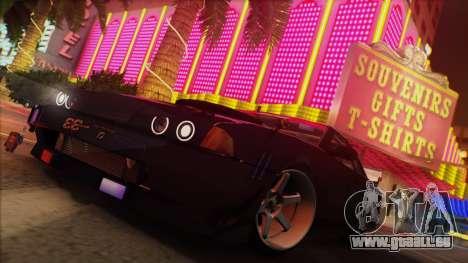 Elegy Undercover pour GTA San Andreas vue intérieure