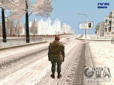 Die besonderen Kräfte der UdSSR CoD Black Ops für GTA San Andreas dritten Screenshot