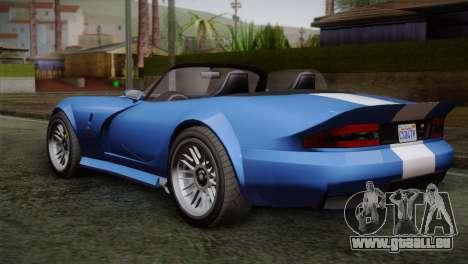 GTA 5 Bravado Banshee für GTA San Andreas linke Ansicht