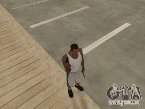 Russe pistolets-mitrailleurs pour GTA San Andreas huitième écran