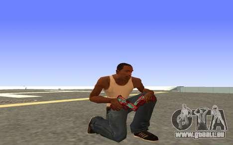 Glock-18 de l'eau de CS:GO pour GTA San Andreas quatrième écran