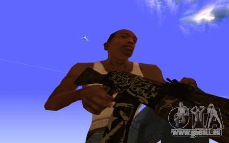 AK-47 Desert rebel CS:GO für GTA San Andreas