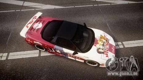 Honda NSX 1998 [EPM] k-on tainaka ritsu für GTA 4 rechte Ansicht