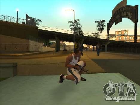 Russe pistolets-mitrailleurs pour GTA San Andreas deuxième écran