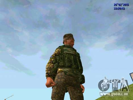 Cosaque Du Don pour GTA San Andreas deuxième écran