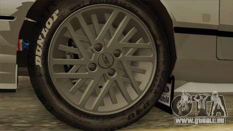Ford Sierra Sapphire 4x4 RS Cosworth pour GTA San Andreas vue de droite