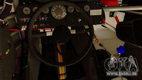 NASCAR Chevy SS 2013 für GTA San Andreas Rückansicht