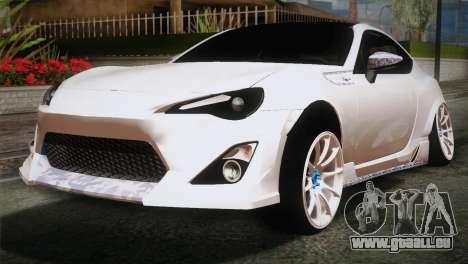 Toyota GT86 pour GTA San Andreas