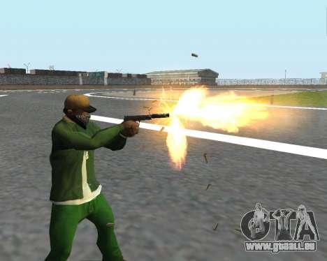 De beaux clichés à partir d'armes pour GTA San Andreas dixième écran