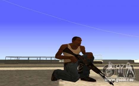 AK-47 Desert rebel CS:GO pour GTA San Andreas deuxième écran