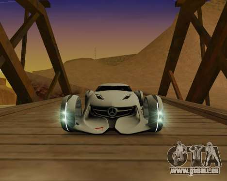 Mercedes-Benz Silver Arrows für GTA San Andreas linke Ansicht