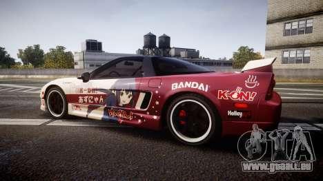 Honda NSX 1998 [EPM] k-on tainaka ritsu pour GTA 4 est une gauche
