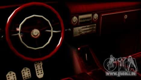 EFLC TLaD Vapid Slamvan SA Mobile pour GTA San Andreas vue de droite