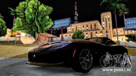 ENB Chaux HD pour PC moyen pour GTA San Andreas cinquième écran