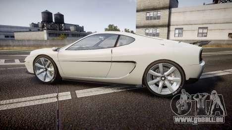 Grotti Turismo GT Carbon v2.0 pour GTA 4 est une gauche