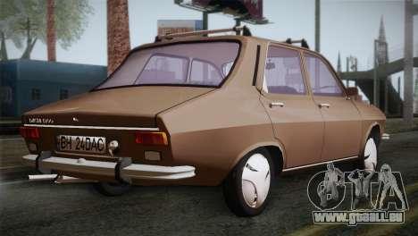 Dacia 1300 Biharia pour GTA San Andreas laissé vue