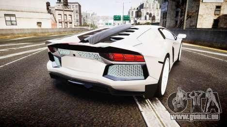 Lamborghini Aventador Hamann Limited 2014 [EPM] pour GTA 4 Vue arrière de la gauche