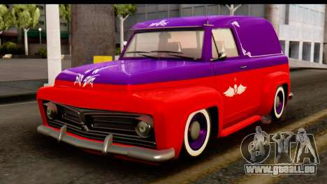 EFLC TLaD Vapid Slamvan SA Mobile pour GTA San Andreas