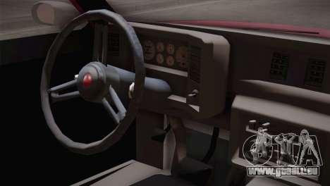 Oldsmobile Cutlass 1987 v2.2 für GTA San Andreas rechten Ansicht