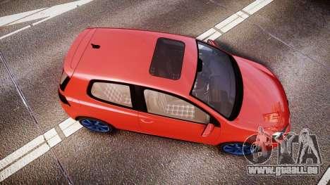Volkswagen Golf Mk6 GTI rims3 pour GTA 4 est un droit
