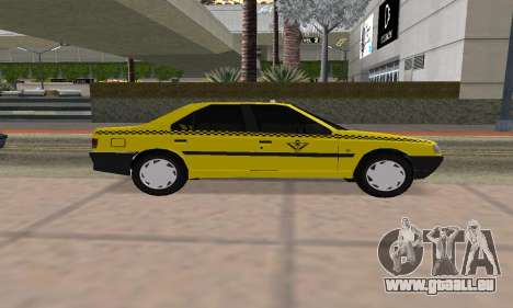 Peugeot 405 Roa Taxi für GTA San Andreas zurück linke Ansicht