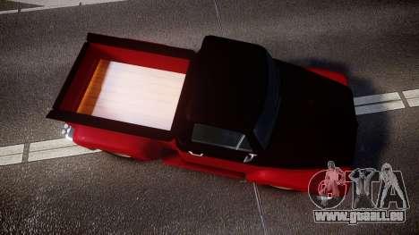 GTA V Vapid Slamvan für GTA 4 rechte Ansicht