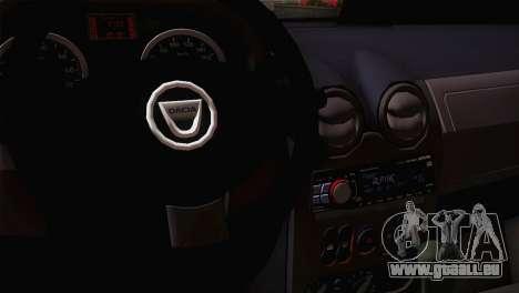 Dacia Logan 2006 für GTA San Andreas Rückansicht