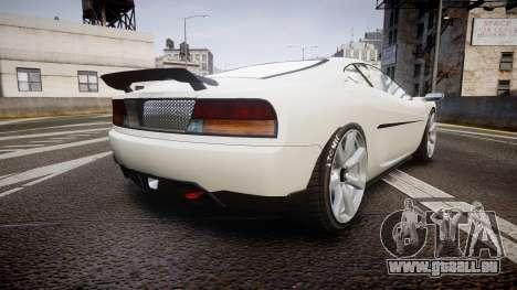 Grotti Turismo GT Carbon v2.0 pour GTA 4 Vue arrière de la gauche