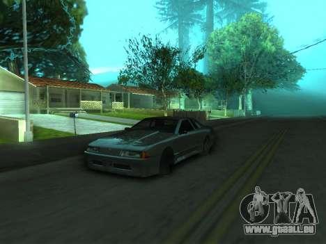 Le comportement réel de la machine v3.0 pour GTA San Andreas deuxième écran