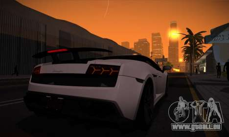 ENB Version v3.1 für GTA San Andreas her Screenshot