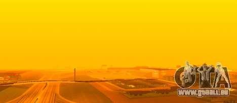 Lumineux Colormod pour GTA San Andreas troisième écran