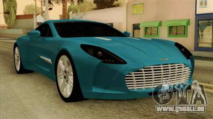 Aston Martin One 77 2010 pour GTA San Andreas