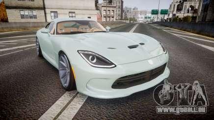 Dodge Viper SRT 2013 rims3 pour GTA 4