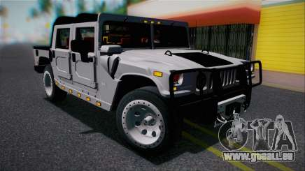 Hummer H1 Alpha OpenTop 2006 Stock für GTA San Andreas