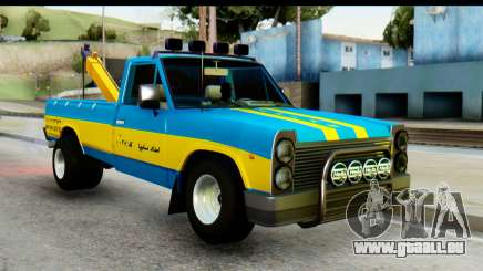 Nissan Junior 1982 Pickup Towtruck für GTA San Andreas