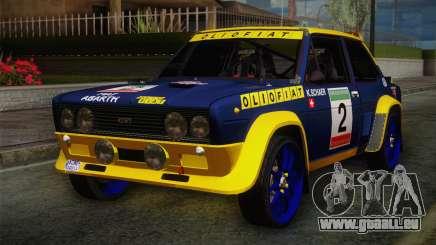 Fiat Abarth Sport Edition pour GTA San Andreas