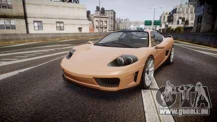 Grotti Turismo GT Carbon für GTA 4
