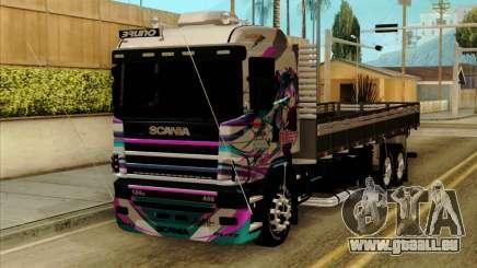 Scania 124G R400 Hatsune Miku Livery für GTA San Andreas