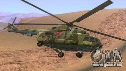 Mi-8 pour GTA San Andreas