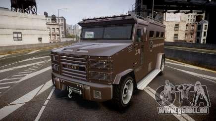 GTA V Brute Police Riot pour GTA 4
