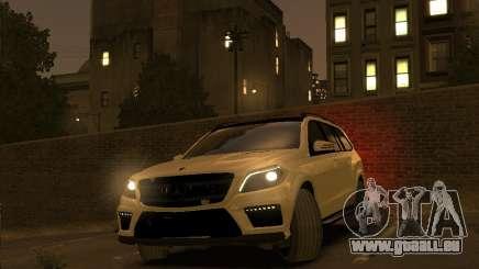 Mercedes-Benz GL500 2014 pour GTA 4