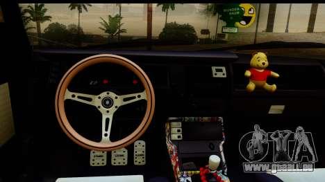 Renault Broadway für GTA San Andreas zurück linke Ansicht