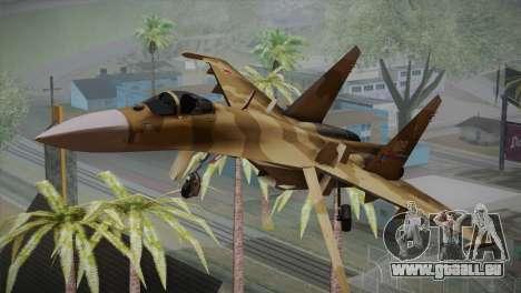 SU-27 Warwolf Squadron pour GTA San Andreas