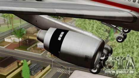 Lookheed L-1011 LTU Intl für GTA San Andreas rechten Ansicht