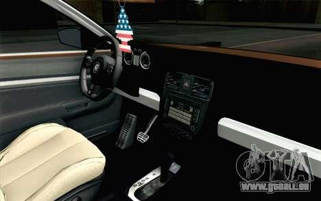 Volkswagen Jetta Air pour GTA San Andreas vue de droite