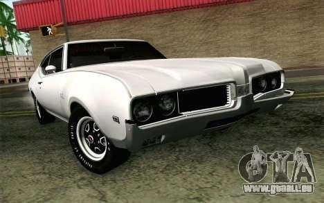 Oldsmobile 442 Vacances Coupé 1969 FIV АПП pour GTA San Andreas