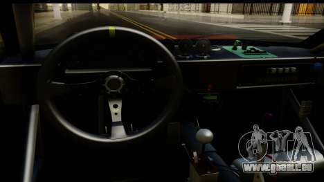 Drift Elegy Edition pour GTA San Andreas vue intérieure